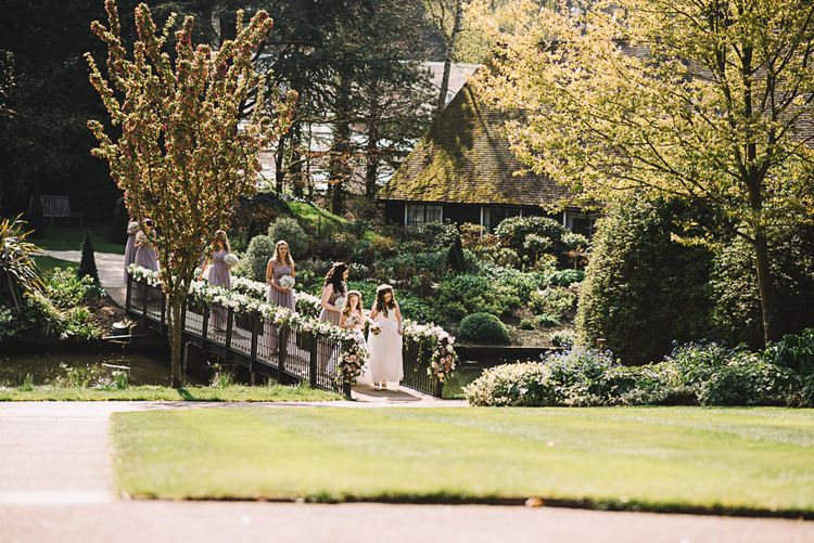 Bridal Party Entrance | The Orangery Maidstone | Lucie Watson Photography | TDH Media Films