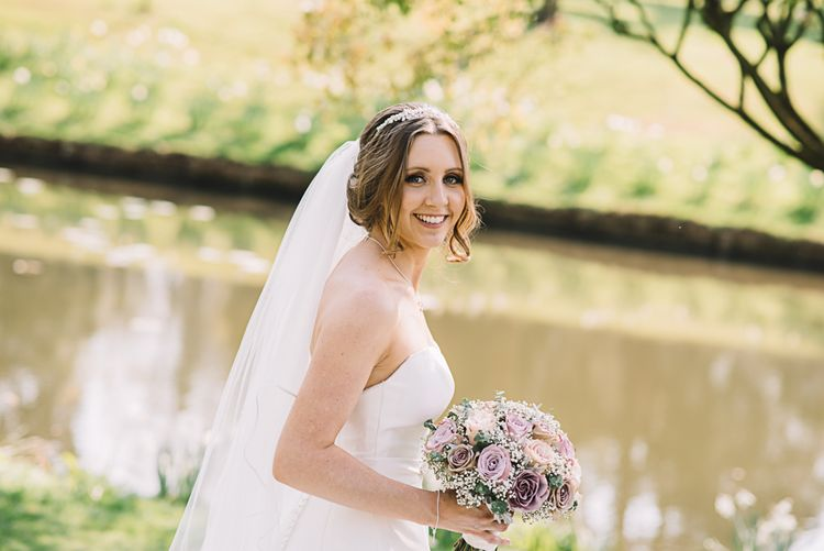 Bride in Ronald Joyce Wedding Dress | The Orangery Maidstone | Lucie Watson Photography | TDH Media Films