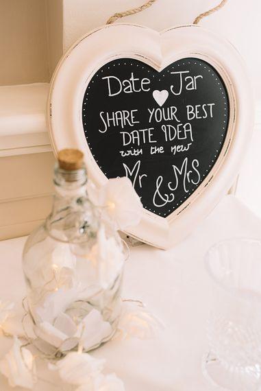 Date Jar Suggestions | Bride in Ronald Joyce Wedding Dress | Groom in Grey Moss Bros Suit | The Orangery Maidstone | Lucie Watson Photography | TDH Media Films