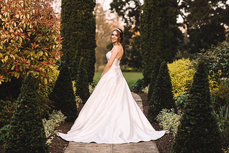 Bride in Ronald Joyce Bridal Gown | The Orangery Maidstone | Lucie Watson Photography | TDH Media Films