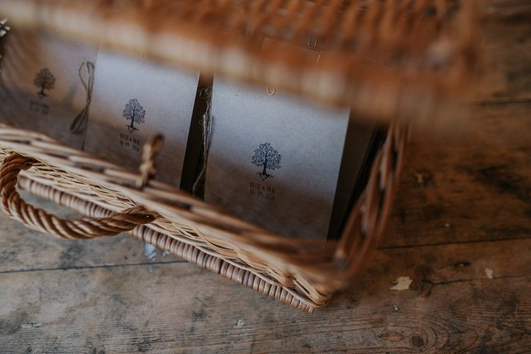 Wedding Stationery With Tree Motif