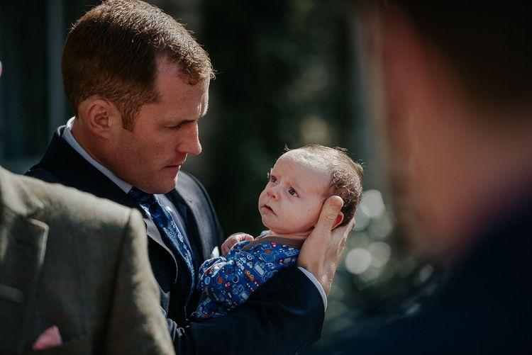 Adorable Baby At Wedding