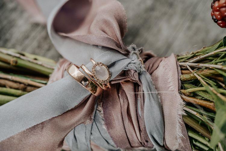 Silk Ribbon on Bouquet by Lancaster & Cornish