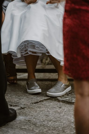 Bride & Groom Nancarrow Farm Wedding