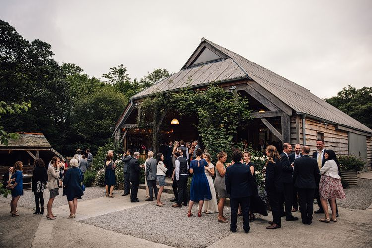 Rustic Barn Wedding at Nancarrow Farm, Cornwall | Samuel Docker Photography