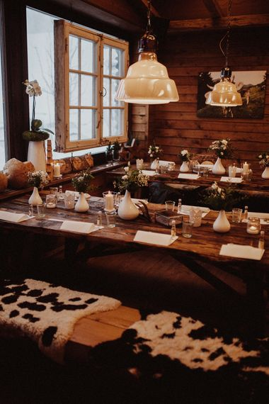 Cosy Winter Wedding Styling