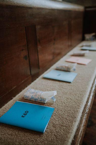 Wedding Stationery | Colourful DIY Barn Wedding at The Manor Barn, Cambridge | Meghan Lorna Photography