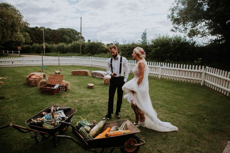 Colourful DIY Barn Wedding at The Manor Barn, Cambridge | Meghan Lorna Photography