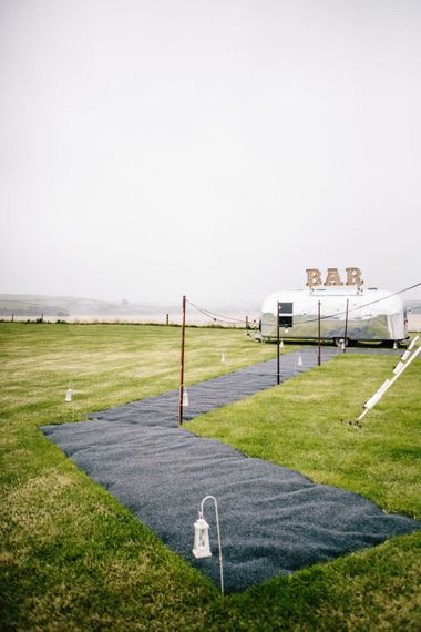 The Buffalo Bar Weddings & Event Cocktail Bar // Coco By Anna Campbell For A Coastal Marquee Wedding In Cornwall With Styling By The Artful Event Co And Prop Hire Inspire Hire With Film By Baxter & Ted And Images From A Thing Like That