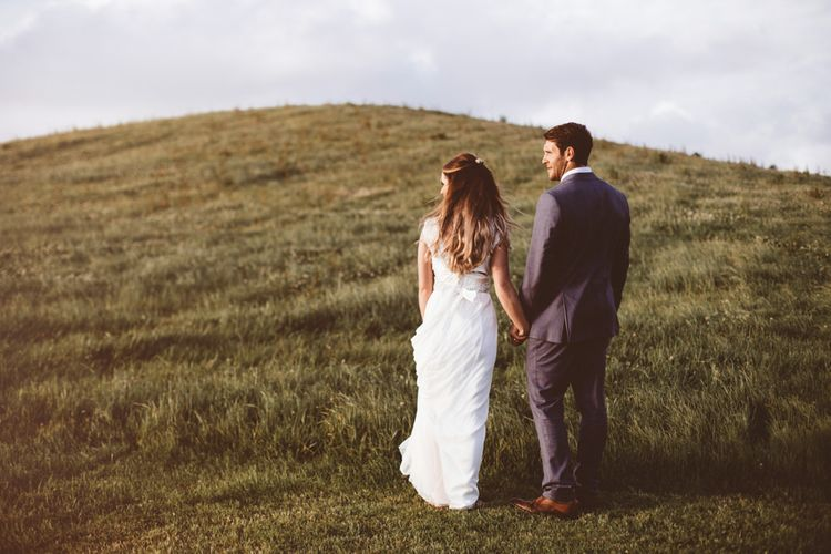 Coco By Anna Campbell For A Coastal Marquee Wedding In Cornwall With Styling By The Artful Event Co And Prop Hire Inspire Hire With Film By Baxter & Ted And Images From A Thing Like That