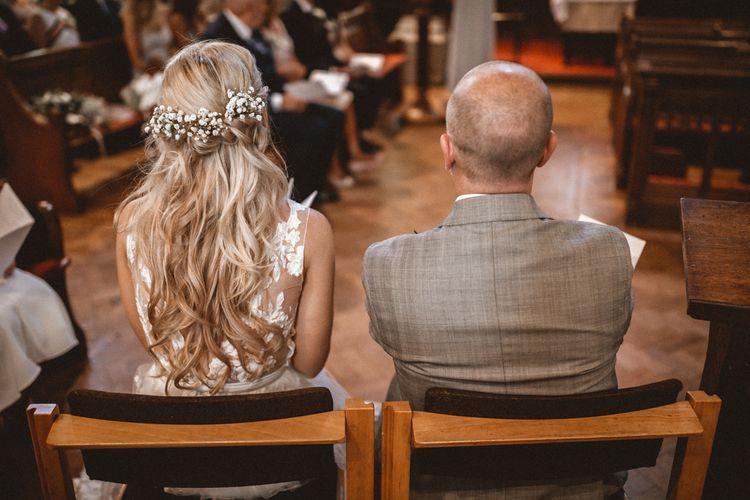 Rime Arodaky Bride For A Stylish Barn Wedding At Southend Barns Images From Benjamin Wheeler