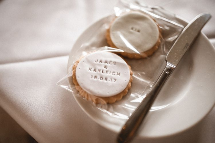 Personalised Biscuit Wedding Favours