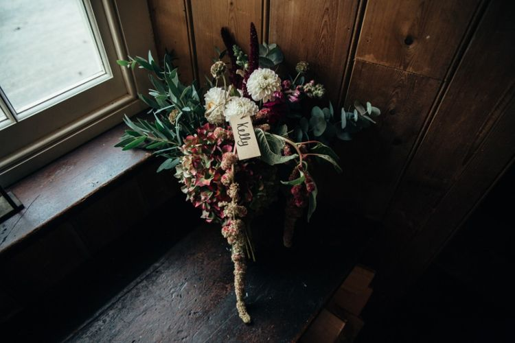Bouquet | Bohemian Tipi Wedding Weekend at Fforest, Wales | Naomi Jane Photography