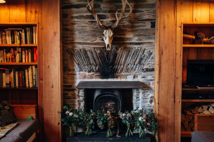 Bouquets | Bohemian Tipi Wedding Weekend at Fforest, Wales | Naomi Jane Photography