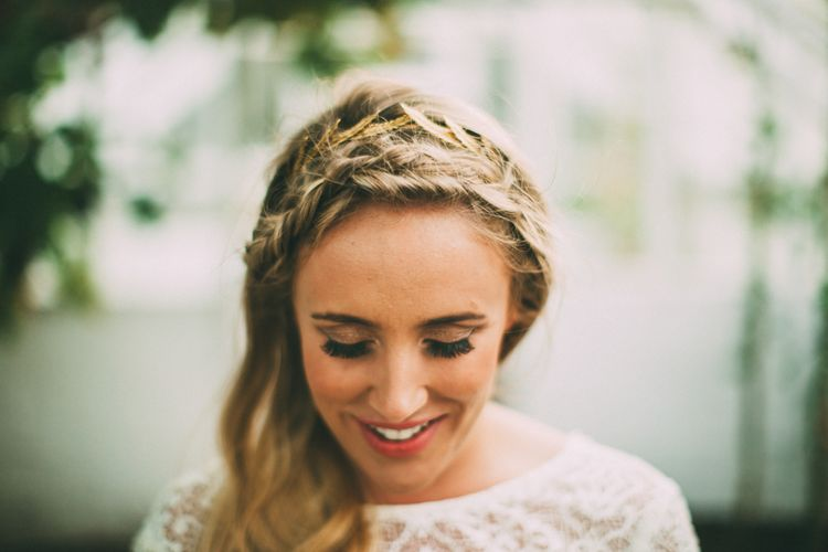 Bride With Plaited Crown