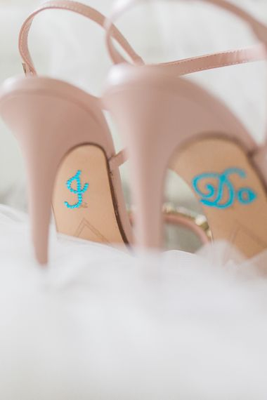 Pink Wedding Shoes From Dune
