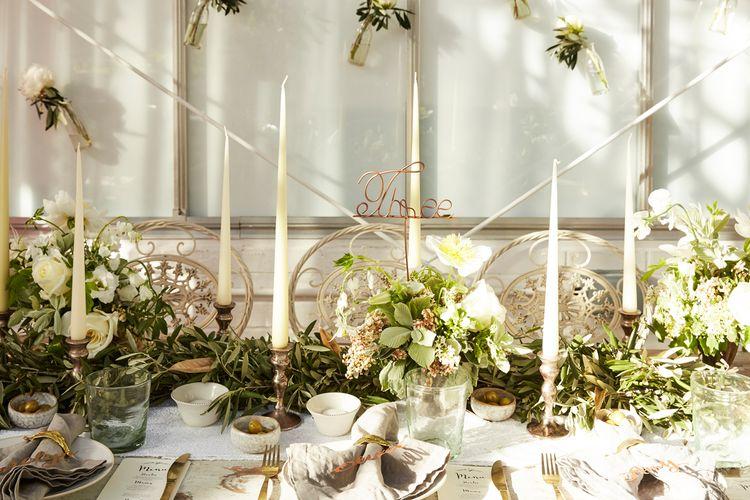 Grecian Wedding Decor Ideas