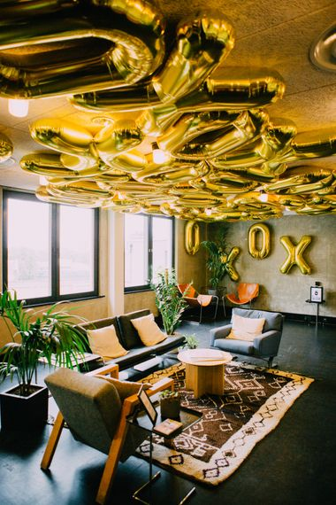 Gold Balloons at Ace Hotel