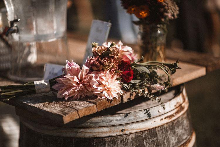Wild Flowers   Outdoor Wedding at Claxton Farm in Weaverville, North Carolina   Benjamin Wheeler Photography