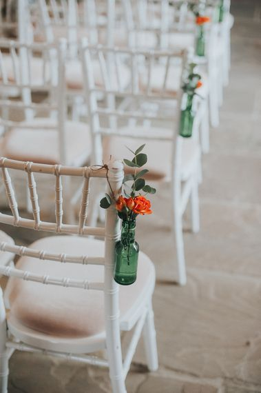 Orange & Green Colour Palette For A Rustic Barn Wedding At Northside Farm With Images By From The Smiths Photography