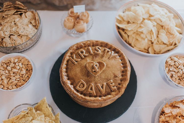 Personalised Wedding Pie
