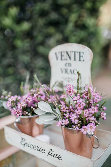 Outdoor Wedding Reception In Rome With Romantic Blush Pink & White Decor And Festoon Lights Planned By Wanderlust Wedding Images From Stefano Santucci