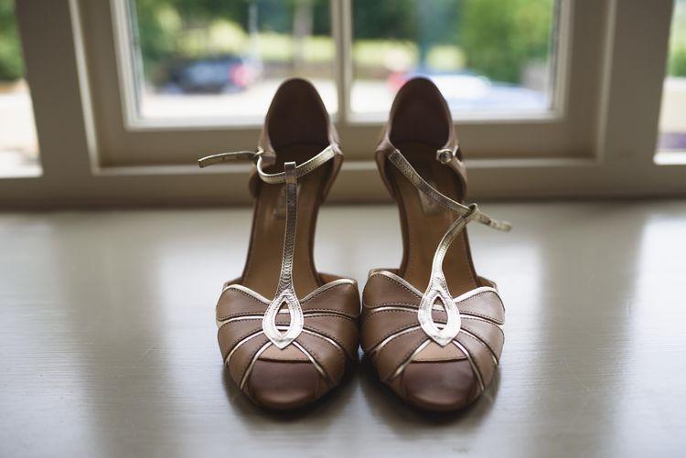 Rachel Simpson Blush Pink Mimosa Bridal Shoes