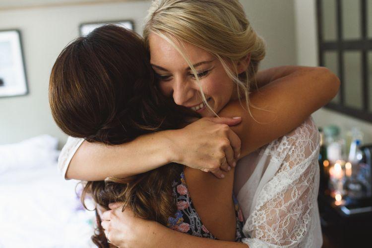 Bridesmaids Hugs