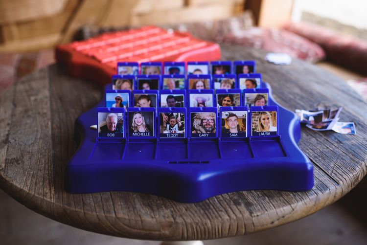 Personalised Wedding Guests Guess Who Game