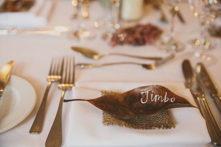 Leaf Name Place Setting