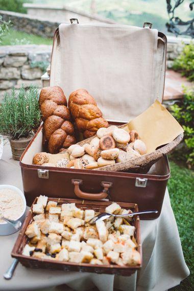 Authentic Italian Breads   Outdoor Wedding at Borgo Bastia Creti in Italy   Paolo Ceritano Photography