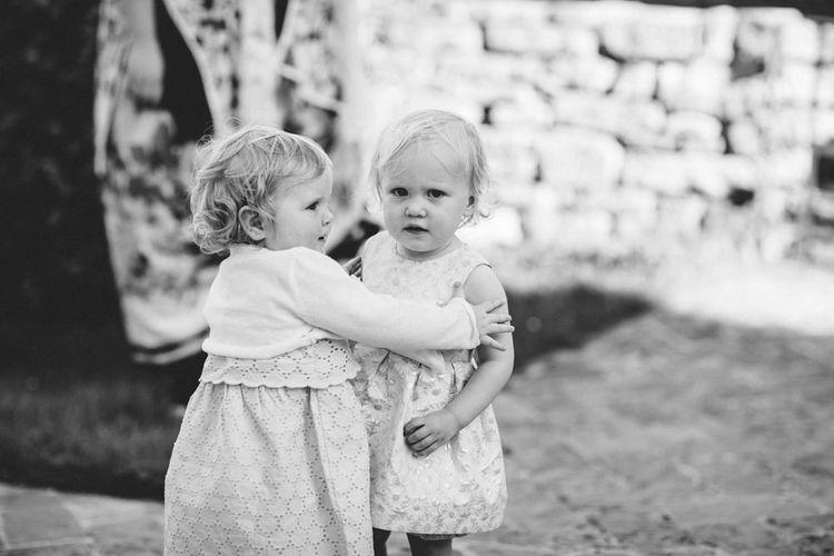 Little Wedding Guests   Outdoor Wedding at Borgo Bastia Creti in Italy   Paolo Ceritano Photography