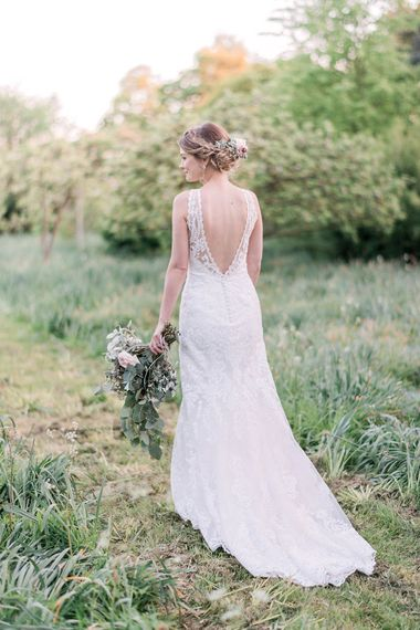 Bride in Sottero & Midgley Gown | Romantic Pastel Wedding at Prested Hall, Essex | Kathryn Hopkins Photography | Sugar Lens Productions