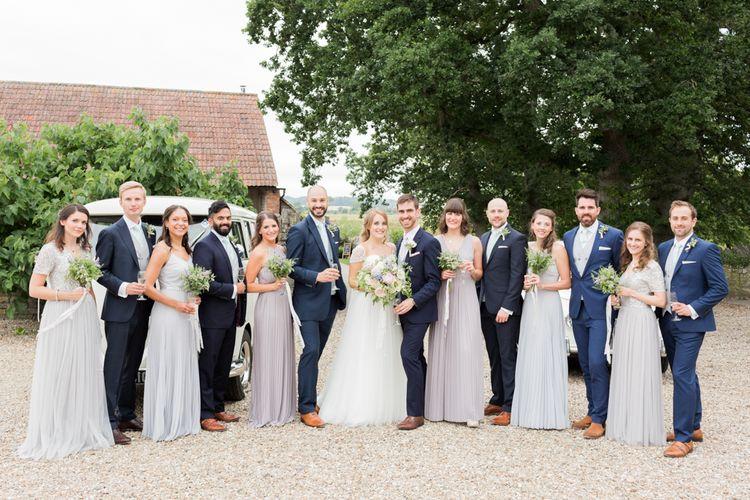 Elegant Wedding Party For Summer Wedding