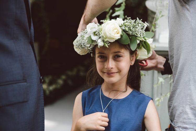 Flower Crown For Flowergirl