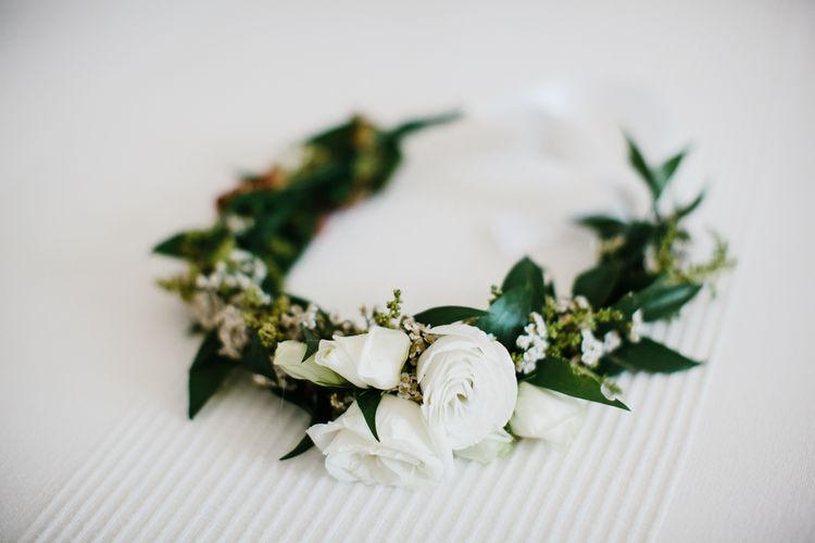 White Flower Crown | Chris Barber Photography