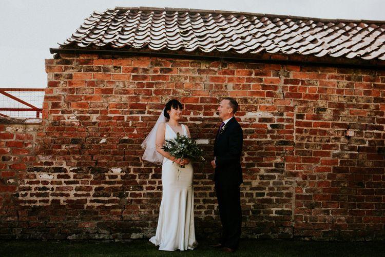 Rustic Wedding At York Maze