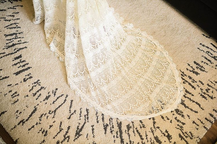 Lace 'Dylan' Daughters of Simone Wedding Dress