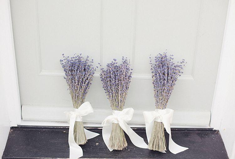 Lavender Posies For Wedding