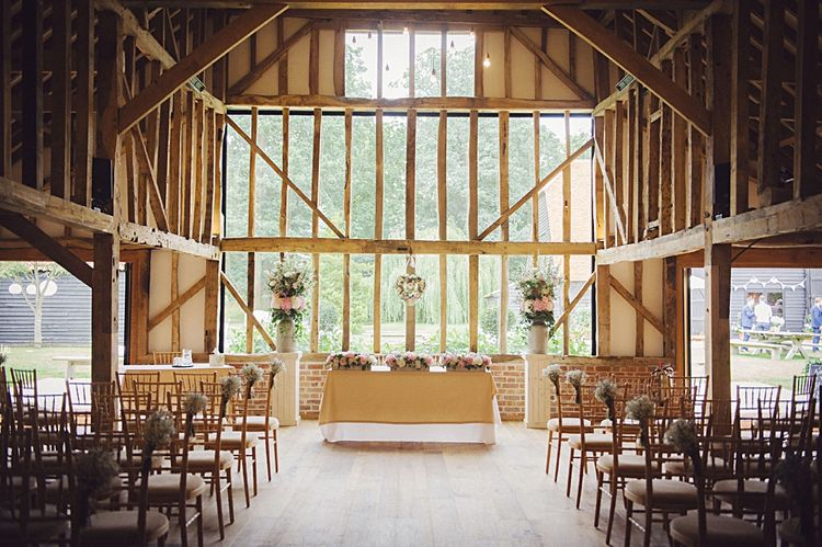 Pastel Wedding Flowers at Blake Hall Essex