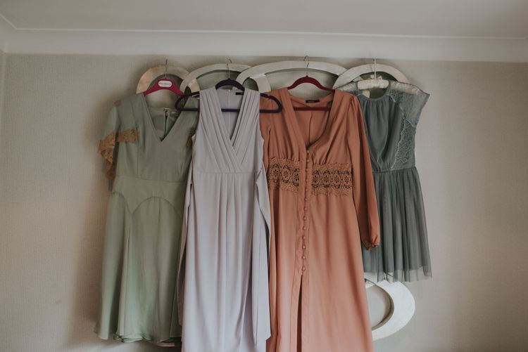 Asos and Boohoo Bridesmaid dresses | Image by Louise Scott