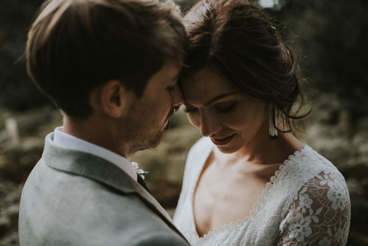 The Hyde Estate West Sussex | Boho Bride in Dreamers and Lovers Dress | Images by Louise Scott