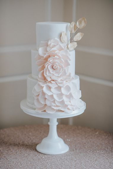 Edible Essence Wedding Cake
