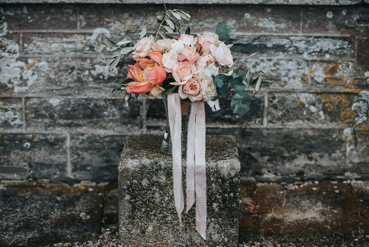 Wedding Bouquet by Laura Hingston Flowers