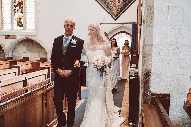 Bridal Church Entrance | Lemonade Pictures