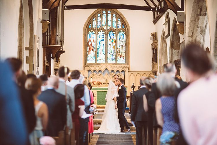 Church Wedding Ceremony | Lemonade Pictures