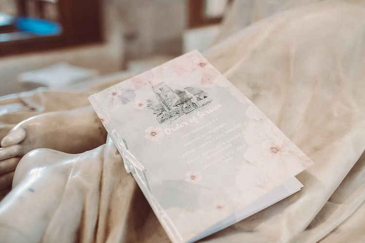 Order of Service Wedding Stationery | Lemonade Pictures