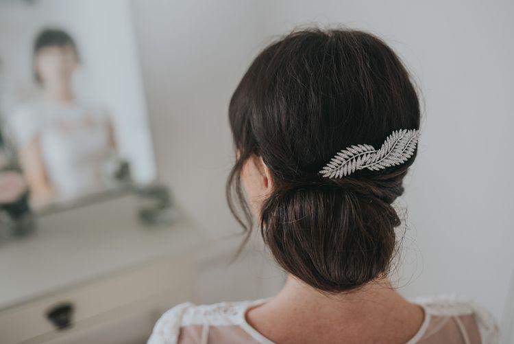 Silver fern comb by Stephanie Browne