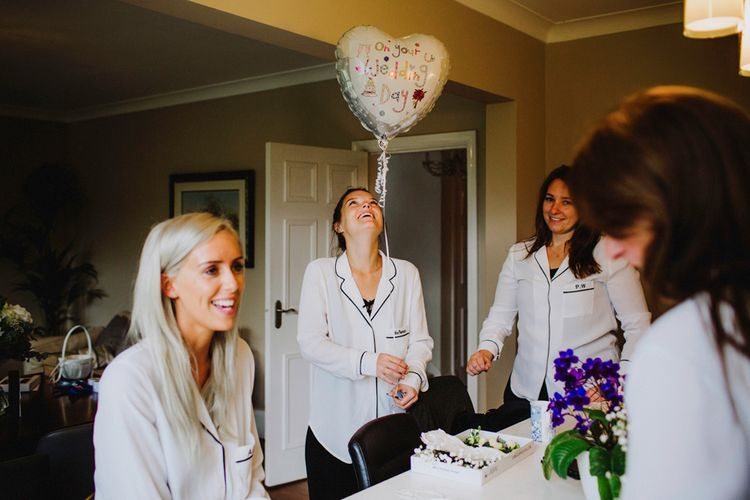 Bride & Bridesmaids Getting Ready Image By Steve Gerrard Photography