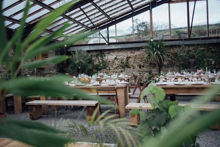 Glasshouse Wedding At Anran Devon